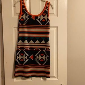 Stylebook Aztec Mini Dress